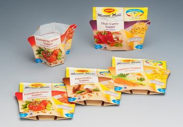 Packaging for foods from Nestle